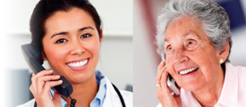 Assurance Calls for Elderly Reassurance call service for seniors medication reminder call